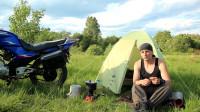 冒险野外露营之摩托车旅行