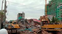 柬埔寨在建大楼坍塌已致18死 涉事中国公民被控制
