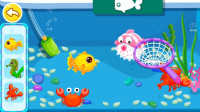宝宝巴士游戏:宝宝超市捞鱼