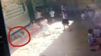 海南一幼儿园玻璃窗掉落砸伤6岁女童 教育局介入