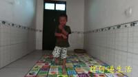 四岁半宝宝跳《大笑江湖》,小家伙太萌了!