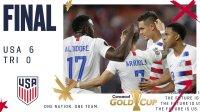 金杯赛-普利西奇1射2传 美国6-0狂胜特多晋级