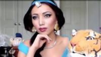当女子将自己美妆打扮成茉莉公主,你觉得她成功了吗?