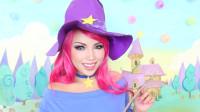 国外女子美妆秀:女巫VS万圣节骷髅妆,你觉得哪个好看?