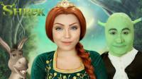 国外女子仿妆秀:美妆打扮成的菲奥娜公主你觉得像吗?