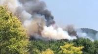 北京平谷突发山火:因村民燎荒引发 当事人已被控制