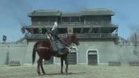 《三国》吕布果然是三国武将之首,连斩袁绍三员大将,还送各路诸侯十八之箭