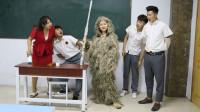 三个同学藏女同学的衣服,结果老师却要女同学请家长,什么情况?