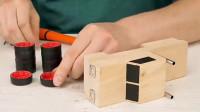 「创意玩具DIY」迷你气瓶赛车的制作方法,跑起来非常快!