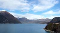 延时摄影:蓝天白云下的西藏巴松错,宛如人间仙境
