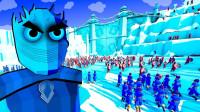 全面战争模拟器:还原权力的游戏大场面 龙母决战北境夜王!