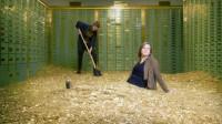 女子花35万买下一家破产银行,打扫房子时,却发现奇迹!