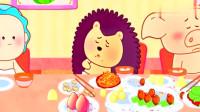 吃自助餐时要吃多少拿多少,不要浪费食物,这是一种素质!