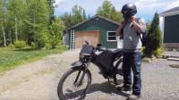 国外木匠用胶合板制作摩托车,看到成品后我酸了,这也太酷了吧?