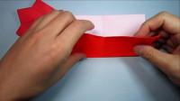 儿童手工折纸小灯笼,1分钟学会简单漂亮灯笼的折法