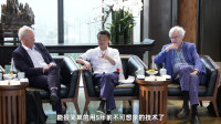 马云对话诺奖得主:我是数字经济的乐观主义者