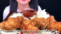 【Phan, ASMR】辣酱配炸鸡
