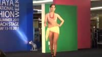 洛杉矶世界小姐泳装秀,活力满满的年轻模特,前途无量!