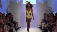迈阿密时装周性感泳装秀,非洲模特性感又有个性!