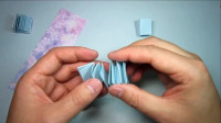 简单的小笔记本怎么折,折纸迷你小书本,DIY手工制作
