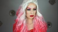 国外时尚美妆,小姐姐粉红女王妆,粉嫩和性感集合一体的魅惑,你被撩到了吗?