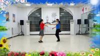 阳光美梅原创广场舞【你是我永远的痛】双人舞-自由花样式双人舞
