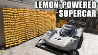 1200个柠檬能给跑车发电吗?老外自制发电墙亲测,却输给了熊孩子!
