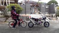 日本车主改装本田摩托车,这车型还比不上一辆单车!