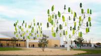 """会发电的树!国外研发世界首款""""风树""""机,每年可发电12000度!"""