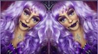 国外时尚美妆,小姐姐紫发另类妆容,迷人优雅 让人惊艳极了!