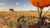 小蛇蛇别过来! ! 热气球沙漠流浪生存! |Desert Skies