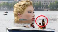 """7个极具创意的著名雕塑,第2个水从""""天上""""流下来吗"""
