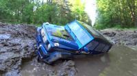 RC遥控奔驰卡车越野车淤泥越野