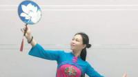 云裳广场舞《明月天涯》沚水老师原创古风折扇舞 黄梅西河舞缘演绎