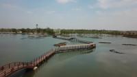 来河北明珠白洋淀游玩,发现景色也就这样,航拍了一部分景色
