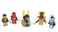 乐高40342幻影忍者系列4个忍者角色积木包