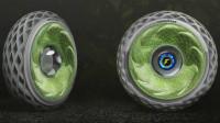 轮胎里面种苔藓!固特异推出概念轮胎,不但能制造氧气还能发电