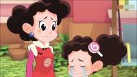 米花是棉花糖的好朋友,妈妈让棉花糖别勉强米花做不喜欢的事!