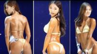 韩国女子性感比基尼健美小姐大赛,肌肉线条展示身材美感 Miss Bikini