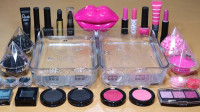 用黑色和粉色的彩妆做无硼砂泥,过程太好玩了,最后会是什么颜色