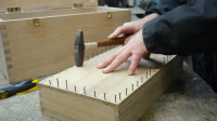制作一个实木工具箱,一顿操作猛如虎,一看成品还凑乎