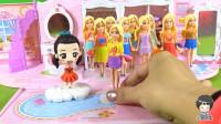 22 芭比奇趣蛋玩具第11款 拆出穿超短裙的芭比公主