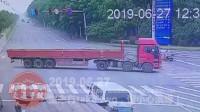 中国交通事故20190627:每天最新的车祸实例,助你提高安全意识