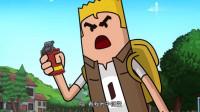搞笑吃雞動畫:游戲開發鬼才發明不靠譜新武器,四胞胎扔炸彈團滅了自己
