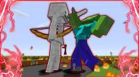 我的世界生物大乱斗02:泰坦小白蜘蛛兄弟合力打败泰坦僵尸 魔哒解说