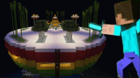 MC生活日记第二天:小尊在建造龙珠神殿!
