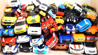 45辆韩国变形金刚Tobot托宝兄弟迷你赛车机器人变形玩具