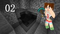 明月庄主基岩版我的世界生存02危险的铁矿洞