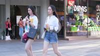 夏日时节,时尚姑娘怎么搭配牛仔短裤,好看又时尚