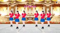 阳光美梅原创广场舞《爱的思念》单人水兵舞
